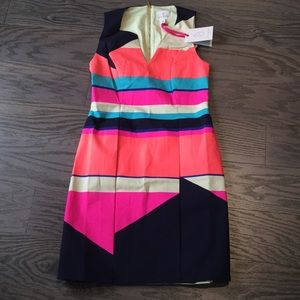 NWT! Bold Color Block Dress